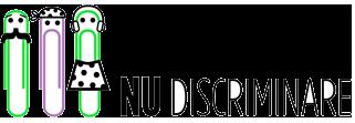 Logo/Sigla Nu discriminare